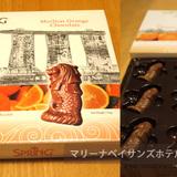 マーライオンのチョコレート