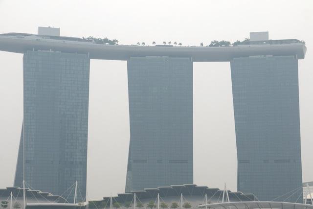 シンガポールダックツアーからみるマリーナベイサンズ