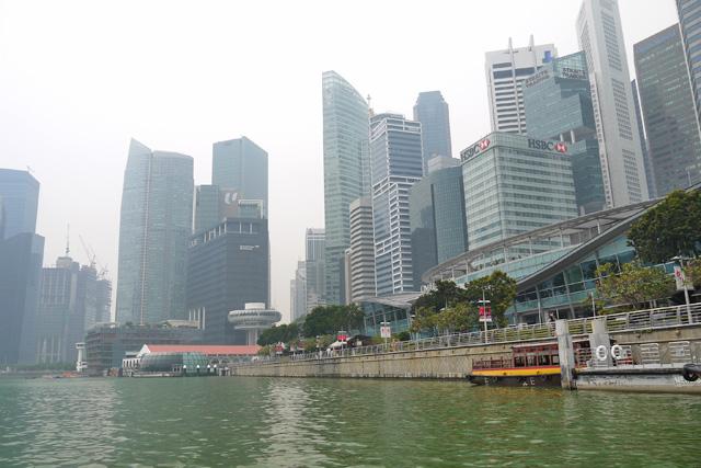 シンガポールダックツアーからみるマリーナベイ