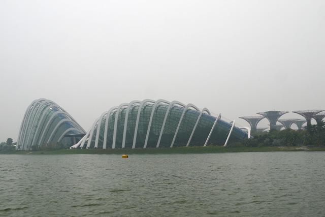 シンガポールダックツアーからみるガーデンバイザベイ