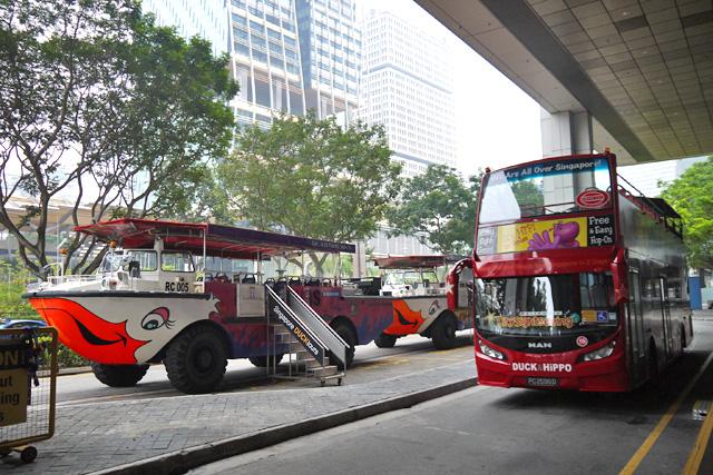 シンガポールダックツアーの乗り場